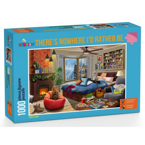 Funbox Puzzle Theres Nowhere I'd Rather Be Puzzle 1,000 pieces