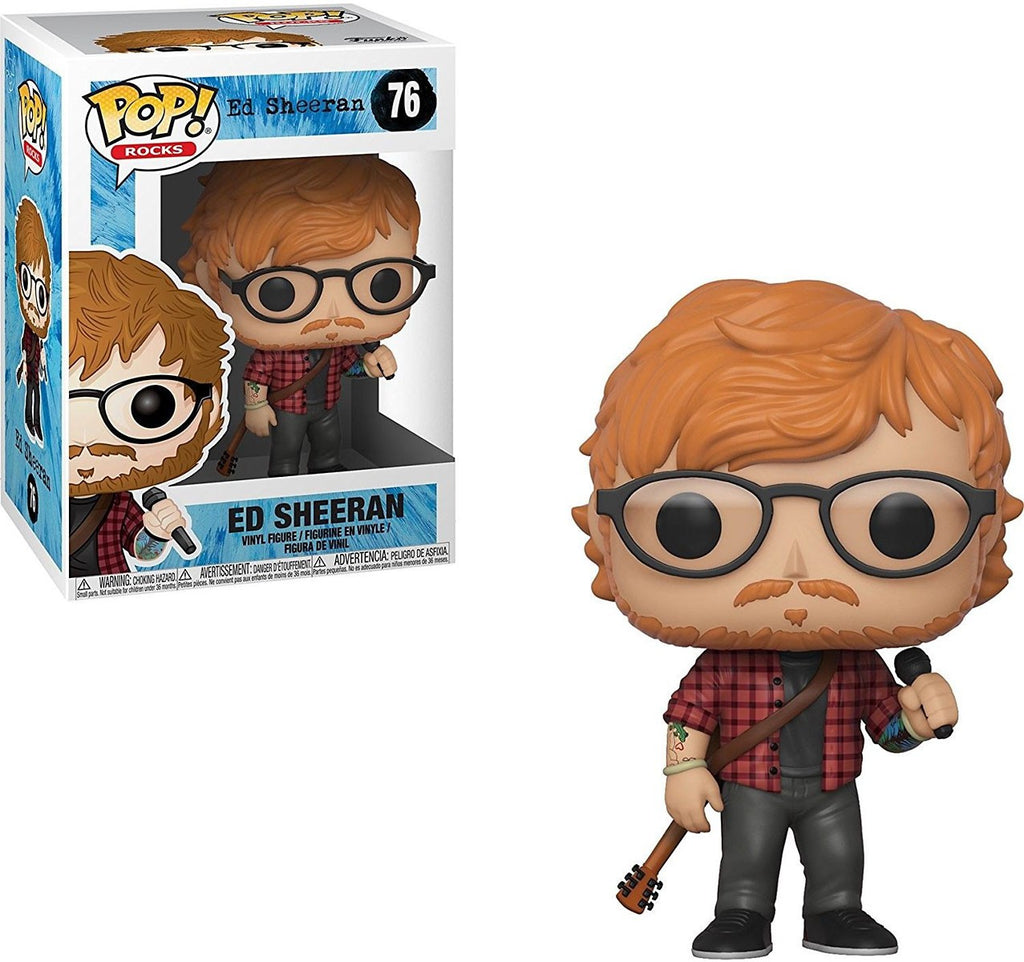 Ed Sheeran - Ed Sheeran Pop! Vinyl