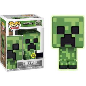 Minecraft - Creeper Glow US Exclusive Pop! Vinyl