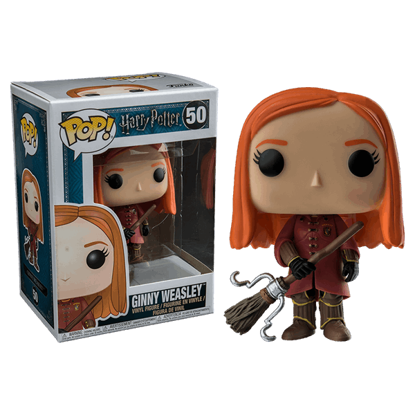 Harry Potter - Ginny Quidditch Robes Pop! Vinyl