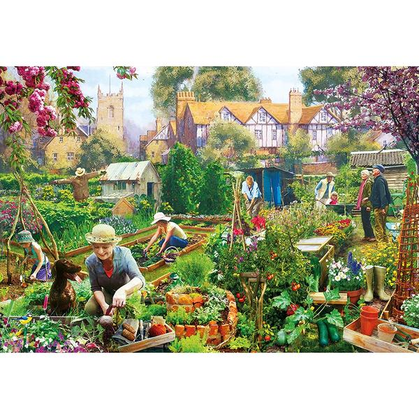 Gibsons - Green Fingers 500pc Puzzle
