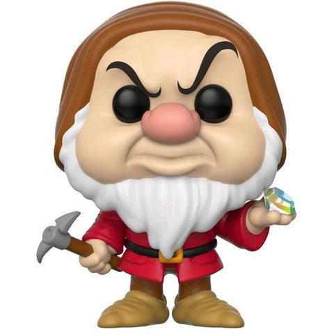 Snow White and the Seven Dwarfs - Grumpy with Diamond & Pick US Exclusive Pop! Vinyl