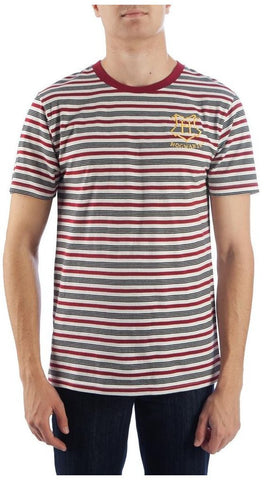 Harry Potter Embroidered Stripe T Shirt S