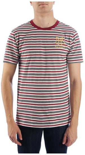 Harry Potter Embroidered Stripe T Shirt L