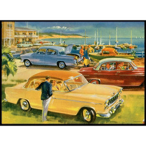 Holden Heritage Collection - 1956 Holden FE Sedan - By The Bay 1000pc Puzzle