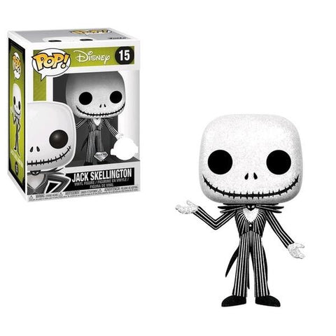 The Nightmare Before Christmas - Jack Skellington Diamond Glitter Pop! Vinyl
