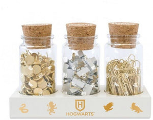 Harry Potter Glass Jar Set with Accessories and Base