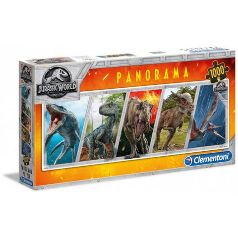 Clementoni Puzzle Jurassic World Panorama 1000 Pieces