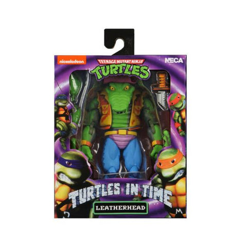 "TMNT - Turtles in Time series 02 7"" Action Figure Assortment (Leatherhead)"