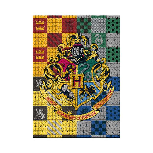 Licensed Puzzle Harry Potter Hogwarts Crest Puzzle 1,000 pieces