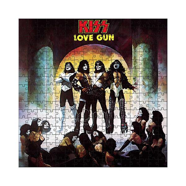 Licensed Puzzle KISS Love Gun Puzzle 1,000 pieces