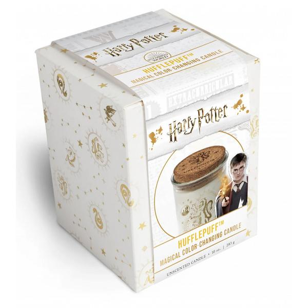 Magical Color Changing Candle 10 ounce Harry Potter Hufflepuff