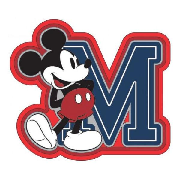 Magnet Soft Touch Mickey Mouse 'M'
