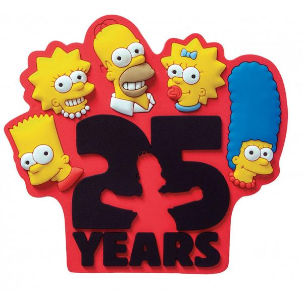 Magnet Soft Touch The Simpsons 25th Anniversary