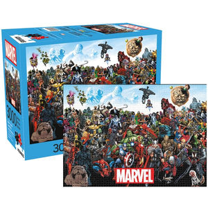 Aquarius Puzzle Marvel Cast Puzzle 3,000 pieces