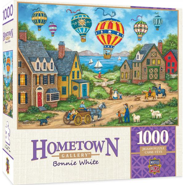 Masterpieces Puzzle Hometown Gallery Passing Through 1,000pc Puzzle