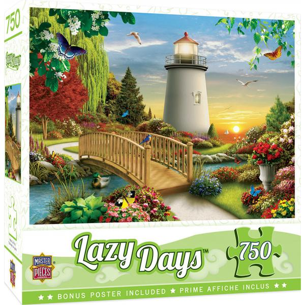 Masterpieces Puzzle Lazy Days Dawn of Light 750pc Puzzle
