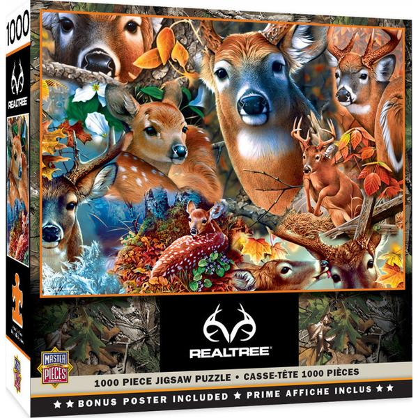 Masterpieces Puzzle Realtree Forest Beauties Puzzle 1,000 pieces