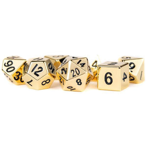 MDG Metal Dice Set - Gold