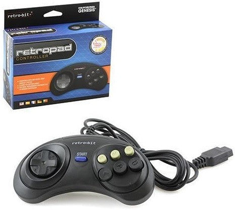 Megadrive Controller Wired 6 Button Retrobit