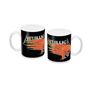 Metallica Coffee Mug Skull
