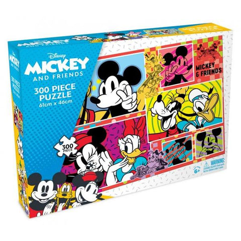 Crown - Mickey & Minnie 300pce Puzzle (3 Assorted Designs)
