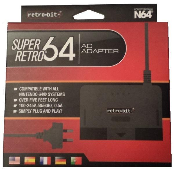 N64 Super Retro Ac Adaptor