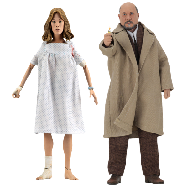 "Halloween 2 - Dr Loomis & Laurie Strode 8"" Action Figure 2-pack"
