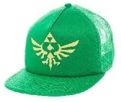 Nintendo The Legend of Zelda Green Trucker Cap