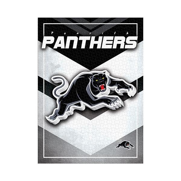 NRL Puzzle Team Logo Penrith Panthers Puzzle 1,000 pieces