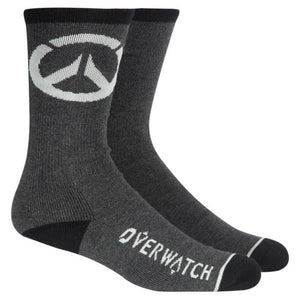 Overwatch Report Socks One Size Black
