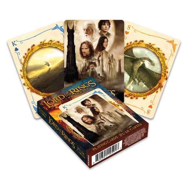 Playing Cards Lord of the Rings Two Towers
