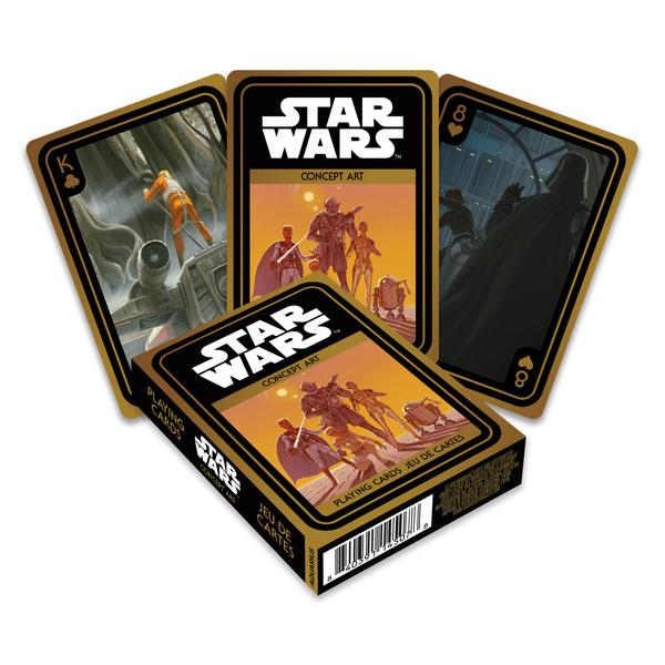 Playing Cards Star Wars Concept Art
