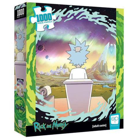The Op Puzzle Rick and Morty Shy Pooper Puzzle 1,000 pieces