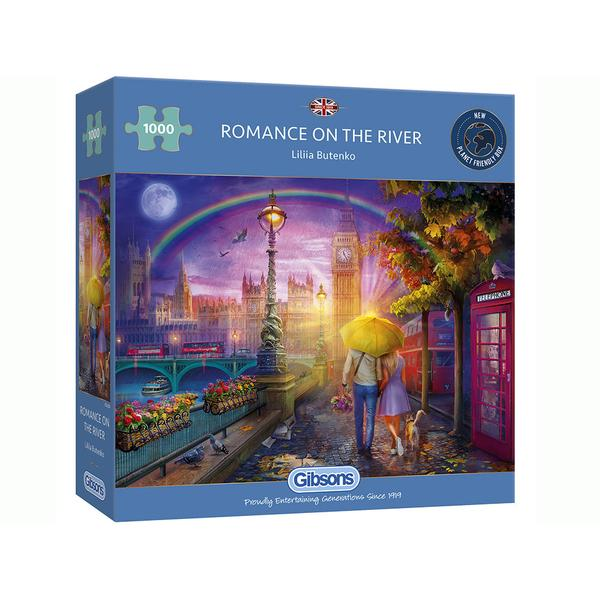 Gibsons - Romance on the River 1000pc Puzzle