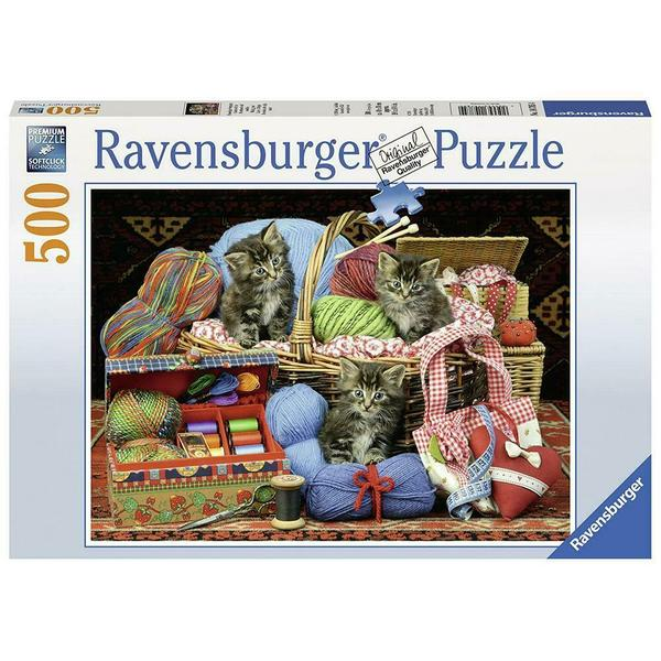 Ravensburger - Fluffy Pleasure Puzzle 500 pieces