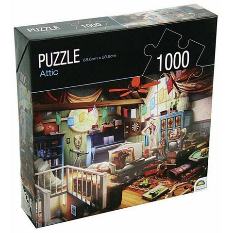 Image of Crown Huntington Green Series 1000pc Puzzle (3 Assorted Designs)