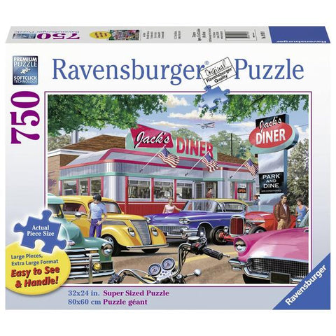 Ravensburger - Meet you at Jack's 750 pieces Large Format Puzzle