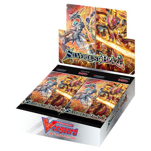 Vanguard V-BT08 Silverdust Blaze Booster Box - Free Delivery