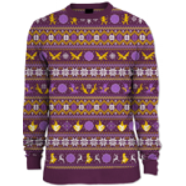 SPYRO - GLIDING UGLY CHRISTMAS SWEATER LRG