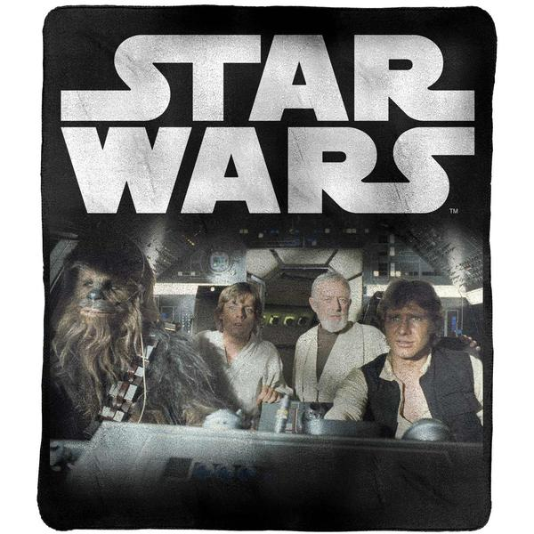 Star Wars Throw Rug [Han, Luke, Obi wan, Chewy]