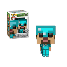 Minecraft - Steve in Diamond Armor US Exclusive Pop! Vinyl
