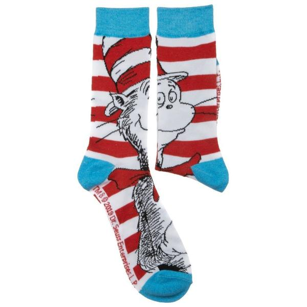 The Cat In The Hat Crew Socks