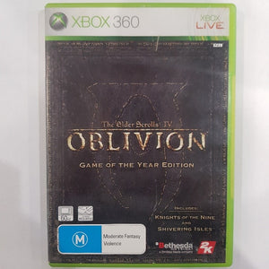 The Elder Scrolls 4: Oblivion - Game Of The Year Edition