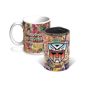 Transformers Coffee Mug & Can Cooler
