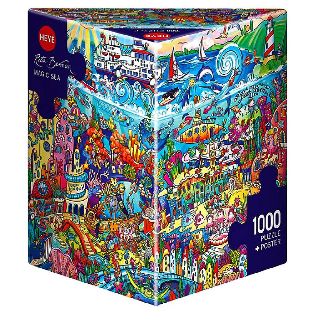 HEYE BERMAN MAGIC SEA PUZZLE 1000pc