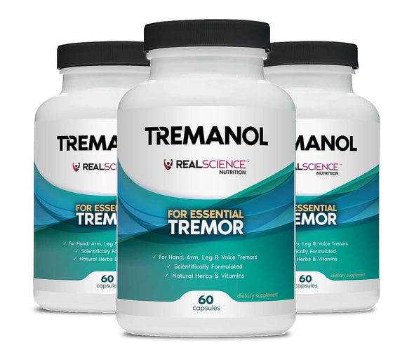 Tremanol - Natural Aid for Essential Tremor - Pack of 3