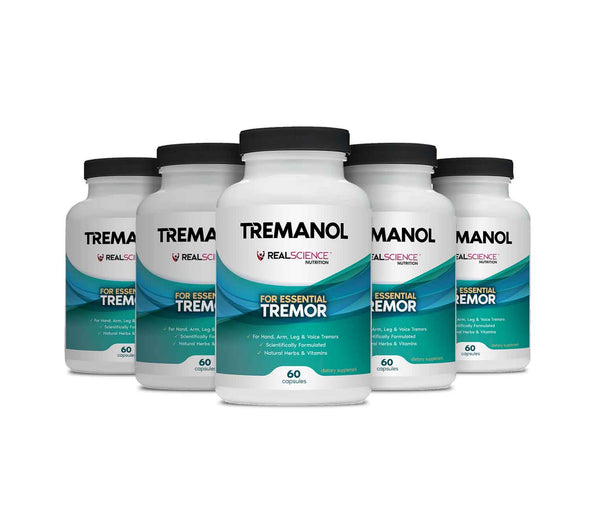 Tremanol - Natural Aid for Essential Tremor - Pack of 5