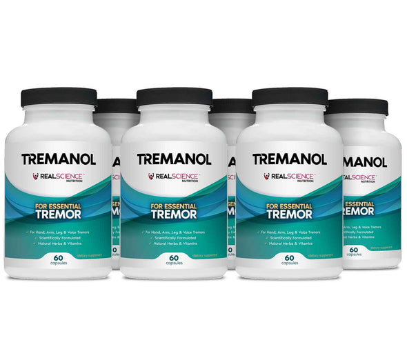 Tremanol - Natural Aid for Essential Tremor - Pack of 6