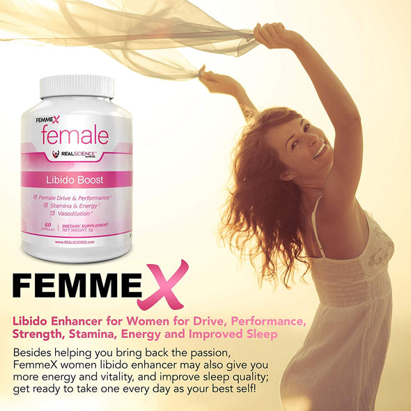 Femme X for Women - Natural Libido and Performance Enhancement Drink